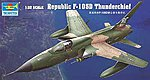 F105D Thunderchief Aircraft -- Plastic Model Airplane Kit -- 1/32 Scale -- #2201