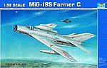 MIG-19S FARMER C Aircraft -- Plastic Model Airplane Kit -- 1/32 Scale -- #2207