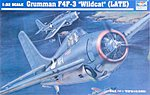 F4F3 Wildcat Fighter Late Version Aircraft -- Plastic Model Airplane Kit -- 1/32 Scale -- #2225