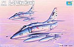 A4F Skyhawk Attack Aircraft -- Plastic Model Airplane Kit -- 1/32 Scale -- #2267