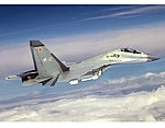 Sukhoi Su30MKK Flanker G Aircraft -- Plastic Model Airplane Kit -- 1/32 Scale -- #2271