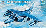 AV8B Harrier II Plus Version Attack Aircraft -- Plastic Model Airplane Kit -- 1/32 Scale -- #2286