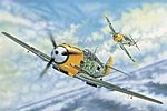Messerschmitt Bf109E3 German Fighter -- Plastic Model Airplane Kit -- 1/32 Scale -- #2288