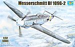 Messerschmitt Bf109G2 German Fighter -- Plastic Model Airplane Kit -- 1/32 Scale -- #2294
