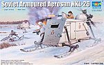 Soviet NKL-26 Armored Aerosan -- Plastic Model Military Vehicle -- 1/35 Scale -- #2321