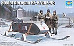 Soviet RF-8 Aerosan -- Plastic Model Military Vehicle -- 1/35 Scale -- #2322