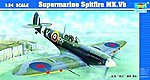 Supermarine Spitfire Mk.Vb-24 Aircraft -- Plastic Model Airplane Kit -- 1/24 Scale -- #2403