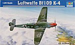 Bf-109K-4 Messerschmitt -- Plastic Model Airplane Kit -- 1/24 Scale -- #2418