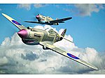 Curtiss P-40B Warhawk Aircraft -- Plastic Model Airplane Kit -- 1/48 Scale -- #2807