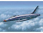 F100D Super Sabre Fighter Aircraft -- Plastic Model Airplane Kit -- 1/48 Scale -- #2839