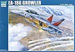 EA18G Growler Electronic Warfare Aircraft -- Plastic Model Airplane Kit -- 1/32 Scale -- #3206