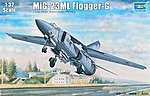 MiG23ML Flogger G Soviet Fighter Aircraft -- Plastic Model Airplane Kit -- 1/32 Scale -- #3210