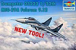 MiG-29A Fulcrum Russian Fighter -- Plastic Model Airplane Kit -- 1/32 Scale -- #3223