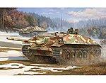 German E25 Tank Destroyer -- Plastic Model Military Vehicle Kit -- 1/35 Scale -- #383