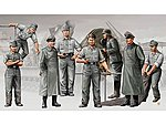 German Morser Karl Artillery Crew Figure Set -- Plastic Model Military Figure -- 1/35 Scale -- #409