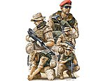 Modern German ISAF NATO Soldiers in Afghanistan Figure Set -- Plastic Model -- 1/35 Scale -- #421