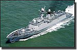 PLA Chinese Zhoushan Type 054A Frigate -- Plastic Model Military Ship -- 1/350 Scale -- #4543