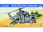 Mil Mi24V Hind E Helicopter -- Plastic Model Kit -- 1/35 Scale -- #5103