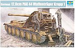 German Krupp 1 12.8cm PaK 44 Waffentrager Carrier -- Plastic Model Kit -- 1/35 Scale -- #5523