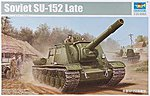 Soviet Su152 (Late) Tank -- Plastic Model Military Vehicle -- 1/35 Scale -- #5568