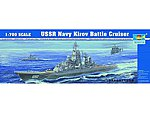 USSR Kirov Soviet Navy Battle Cruiser -- Plastic Model Military Ship -- 1/700 Scale -- #5707