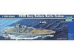 USSR Kalinin Soviet Navy Battle Cruiser -- Plastic Model Military Ship -- 1/700 Scale -- #5709