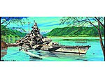 German Tirpitz Battleship 1943 -- Plastic Model Military Ship -- 1/700 Scale -- #5712