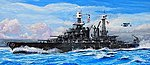USS Maryland BB-46 Battleship 1941 -- Plastic Model Military Ship -- 1/700 Scale -- #5769