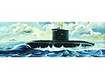 Soviet Kilo Class Type 636 Attack Submarine -- Plastic Model Military Ship -- 1/144 Scale -- #5903