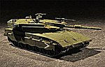 Israeli Merkava Mk III Baz Main Battle Tank -- Plastic Model Military Vehicle -- 1/72 Scale -- #7104