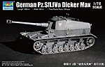 German Pz.Sfl.Iva Dicker Max Tank -- Plastic Model Military Vehicle -- 1/72 Scale -- #7108