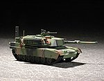 US M1A1 Abrams MBT -- Plastic Model Military Vehicle -- 1/72 Scale -- #7276