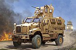 US M-ATV MRAP MaxxPro Vehicle -- Plastic Model Military Vehicle -- 1/16 Scale -- #931