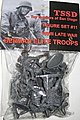 WWII Late War German Elite Troops Figure -- Plastic Model Military Figure -- 1/32 Scale -- #11