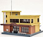 Community Center and Public Library Kit -- N Scale Model Railroad Building -- #252764