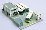 City Bus Terminal - N-Scale