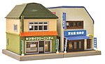 Dry Cleaner/Restaurant Kit -- N Scale Model Railroad Building -- #256250