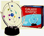 Galaxy Kinectic Revolving Planetary Orbits Motion Kit