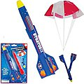 Parachute Rocket 8-1/2'' (Cd) -- Flying Toy -- #6157