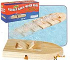 Rubber Band Pwd Wooden Paddleboat