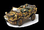 German Schwimmwagen Normandy 1944 -- Diecast Military Model Vehicle -- 1/32 scale -- #82002