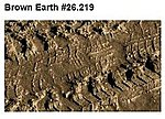 Brown Earth Effect (200ml Bottle) -- Model Railroad Mold Accessory -- #26219