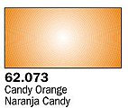 Candy Orange Premium (60ml Bottle) -- Hobby and Model Acrylic Paint -- #62073