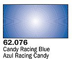 Candy Racing Blue Premium (60ml Bottle) -- Hobby and Model Acrylic Paint -- #62076