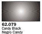 Candy Black Premium (60ml Bottle) -- Hobby and Model Acrylic Paint -- #62079