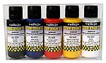 60ml Bottle Basic Opaque Premium Paint Set (5 Colors) -- Hobby and Model Paint Set -- #62101