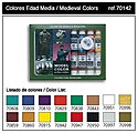17ml Bottle Medieval Model Color Paint Set (16 Colors) -- Hobby and Model Paint Set -- #70142
