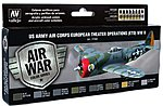 US Army Air Corps European Theater Operations Paint Set -- Hobby and Model Paint -- #71182