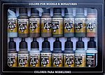 RLM Model Air Paint Set (16 Colors) -- Hobby and Model Paint Set -- #71193