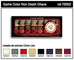 Non Death Chaos Game Color Paint Set (8 Colors) -- Hobby and Model Paint Set -- #72302